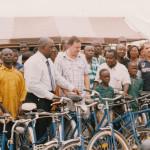 PRESENTATION OF BICYCLES TO SCHOOL CHILDREN AT ATWIMA KOKOBEN-ASHANTI REGION