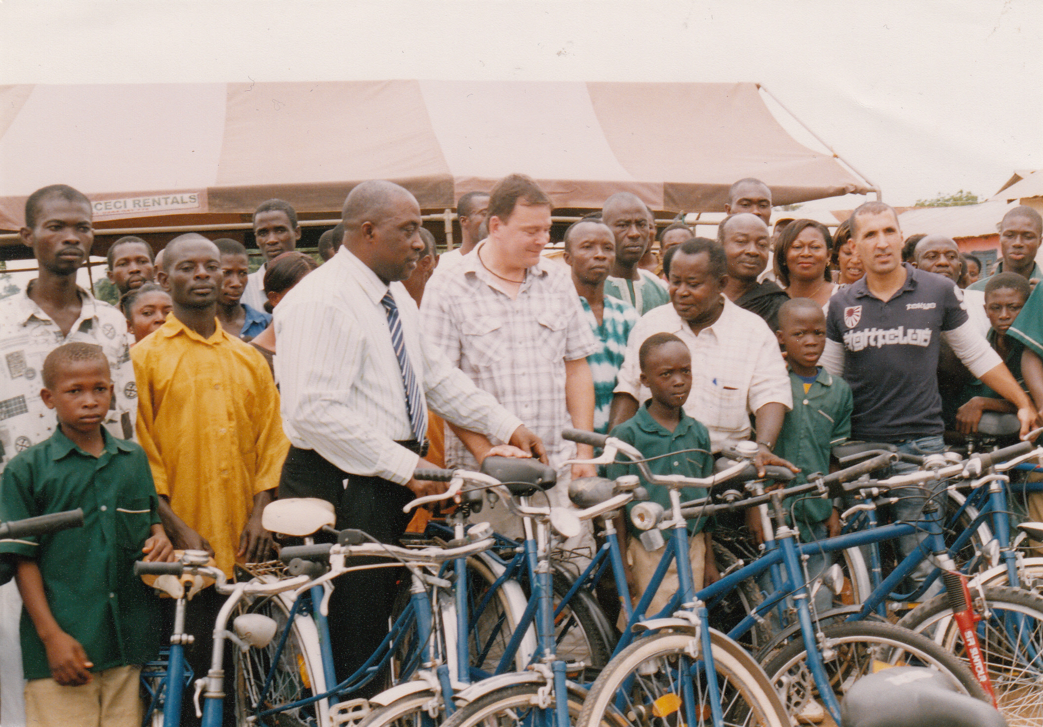PRESENTATION OF BICYCLES TO SCHOOL CHILDREN AT ATWIMA KOKOBEN-ASHANTI REGION