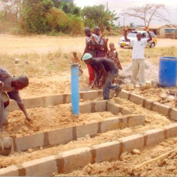 DRILLING OF A BOREHOLE FOR ATWIMA KOKOBEN (SPONSORED BY THE NGO)