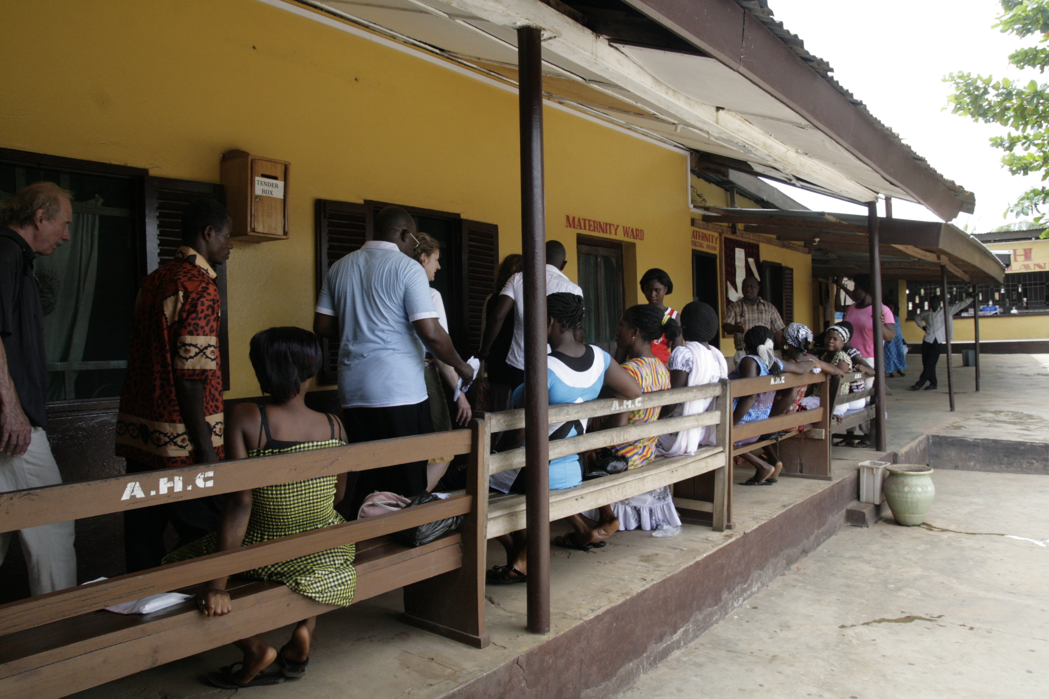 SOME PATIENTS AT ABUAKWA HOSPITAL