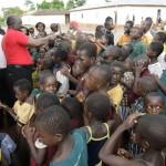 CHILDREN GATHERED