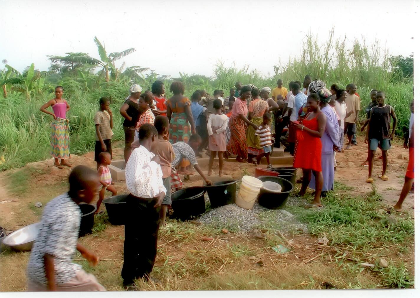 BOREHOLE AT ATWIMA KOKOBEN