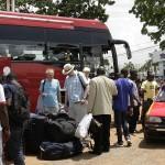 ARRIVAL IN GHANA