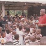 PRESENTATION OF DRESSES TO SCHOOL CHILDREN AT ATWIMA KOKOBEN-ASHANTI REGION
