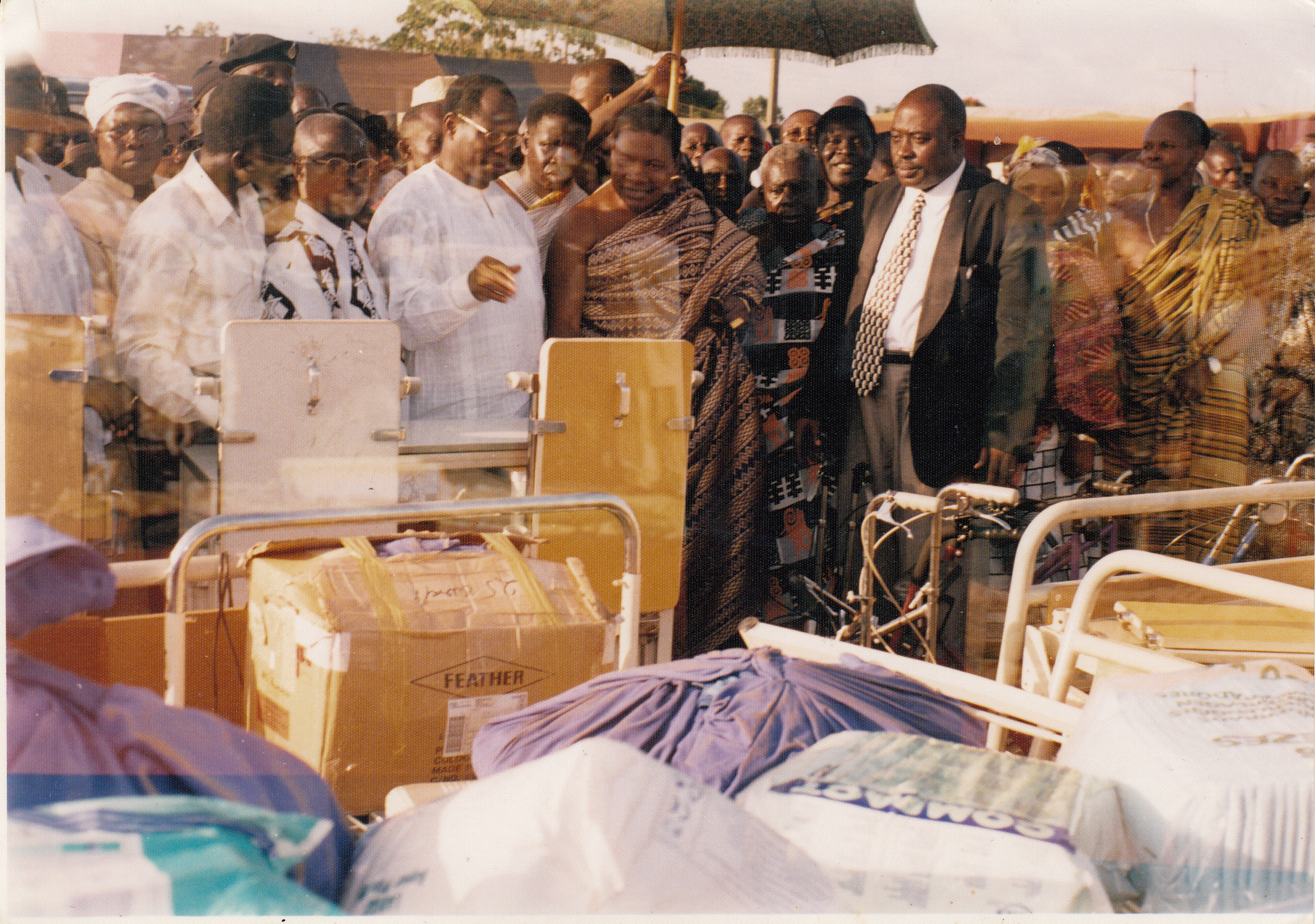 DONATION TO OFFINSO DISTRICT HOSPITAL-ASHANTI REGION
