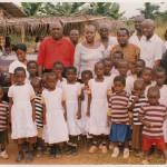 DONATION OF DRESSES TO SCHOOL CHILDREN AT ATWIMA KOKOBEN-ASHANTI REGION