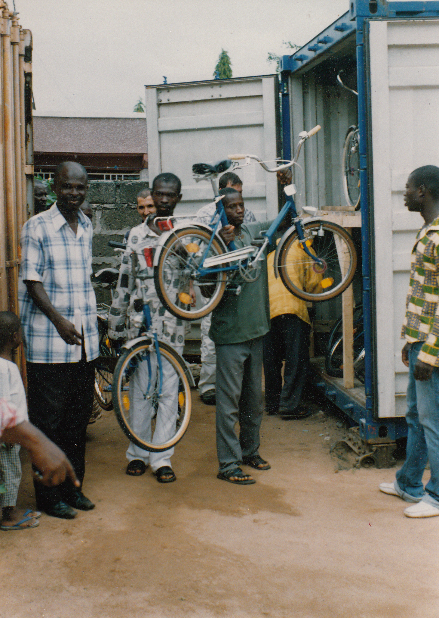 DONATION OF BICYCLES TO SCHOOL CHILDREN AT ATWIMA KOKOBEN-ASHANTI REGION