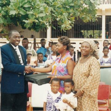 DONATION TO OTUA MEMORIAL SCHOOL IN KUMASI-ASHANTI REGION