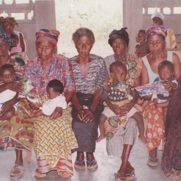 DONATION OF CLOTHINGS TO NEEDY WOMEN AT ATWIMA KOKOBEN-ASHANTI REGION