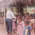 DONATION OF UNIFORMS TO SCHOOL CHILDREN AT CHIRAASE-ASHANTI REGION